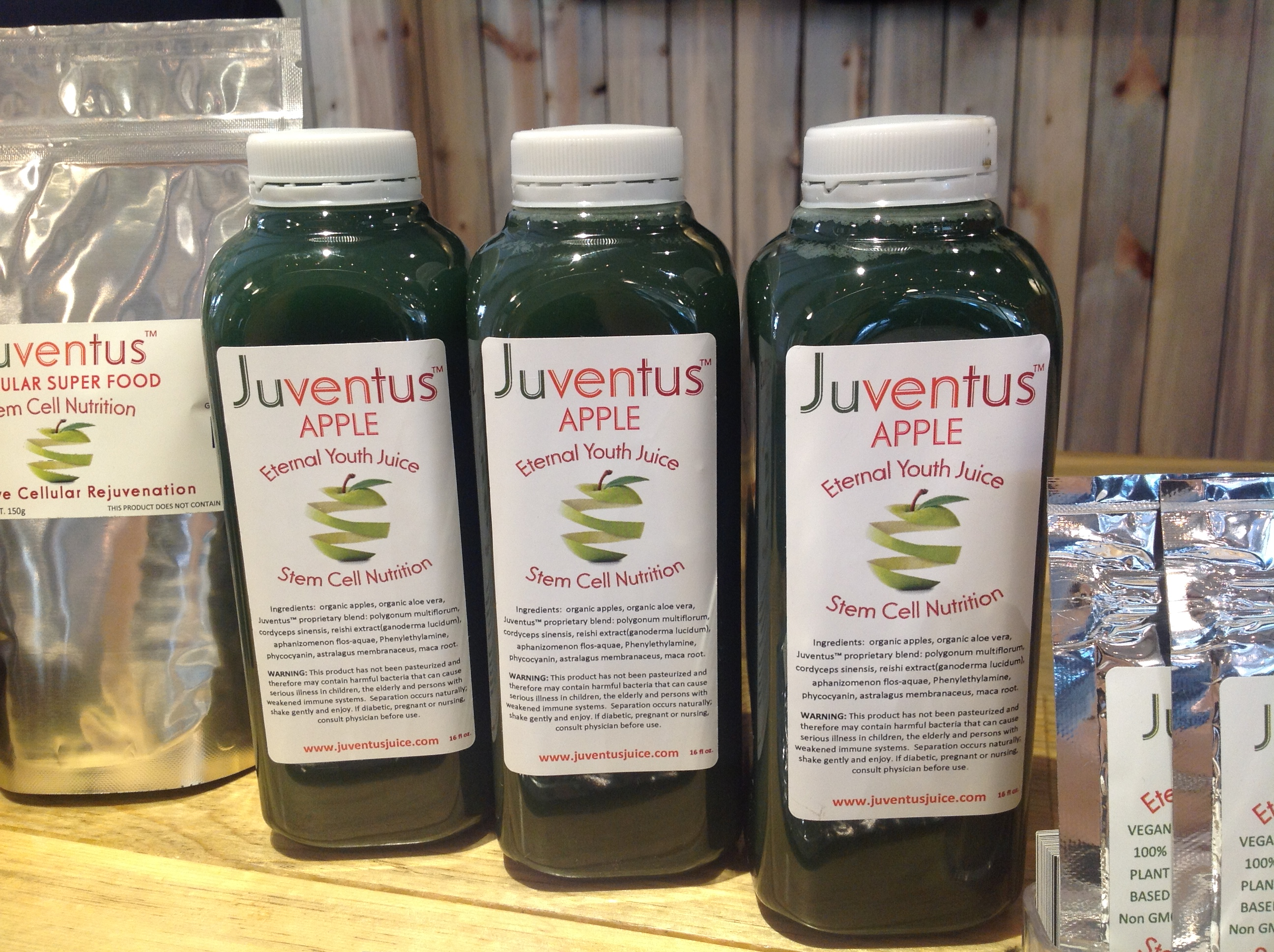 Juventus Juice Stem Cell Nutrition