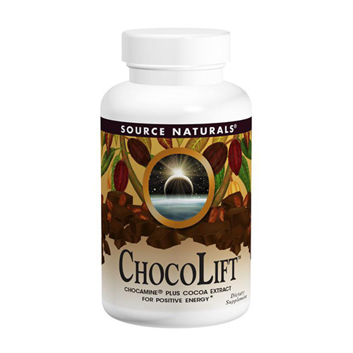 Source Naturals Chocolift, where to buy chocolift, positive energy, cocoa extract, chocamine, what is chocolift