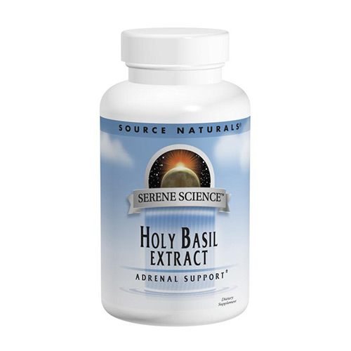 Holy basil, holy basil extract, source naturals holy basil extract, what is holy basil, why should I use holy basil, holy basil for adrenal support, best adrenal support, natural adrenal support, serene science